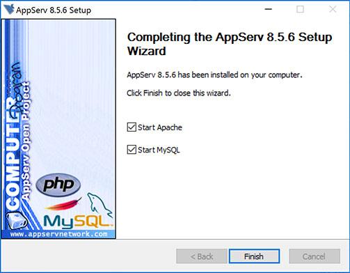appserv 2.4.3 setup